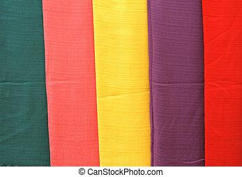 anders, weefsels, met de hand gemaakt, kleuren