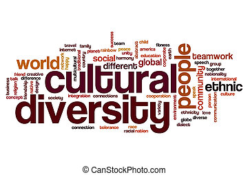 andersartigkeit, kulturell, wort, wolke