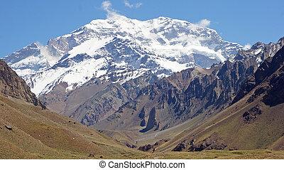 andes, argentina, montanhas