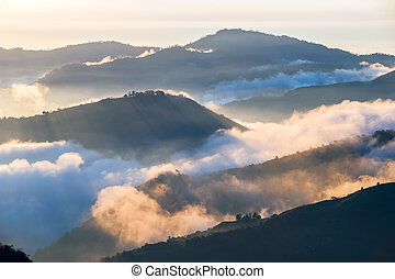 Andes, Bolivar Province, Ecuador: The photo was taken on the...