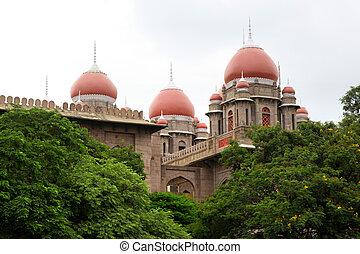 Historic Andhra pradesh high court complex