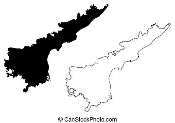 Image Result For Andhra Pradesh State Map