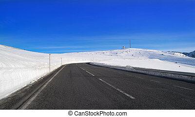 Andorra Grandvalira sector road Pyrenees - Andorra...