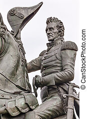 Andrew Jackson Statue Lafayette Park Pennsylvania Ave Washington