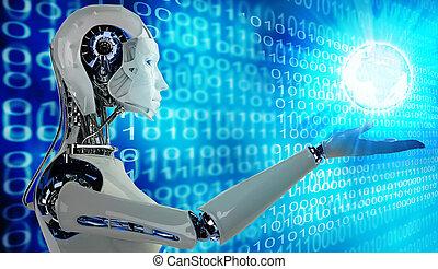 androïde, robot, femmes