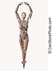 android, dançarino