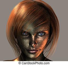 android, femininas