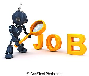 Android searching for a job