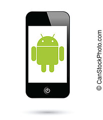 android, smartphones, operationg, systeem
