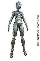 android, weibliche