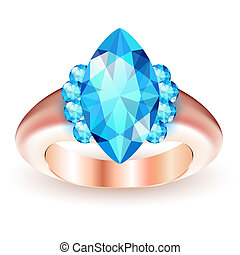 anel, gemstone