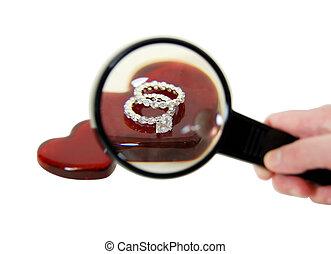 anel, obrigação, procurar