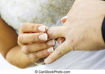 anelli, cerimoniale, matrimonio