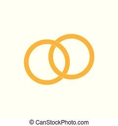 anelli, oro, matrimonio