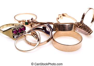 anelli, primo piano