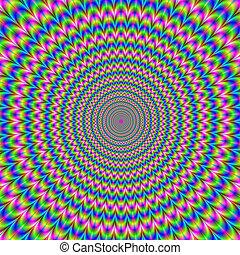 anelli, psichedelico
