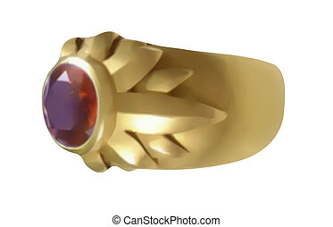 anelli, vettore, -, matrimonio