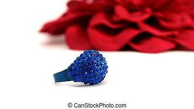 anello blu