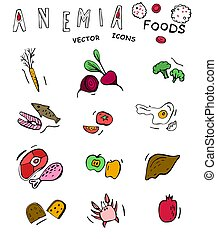 Anemia food doodles - Foods you should be eating if you are ...