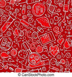 Anemia seamless pattern - Creative anemia seamless pattern ...
