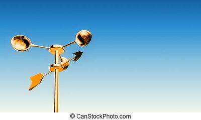 Anemometer Gold (Loop - Luma Matte)