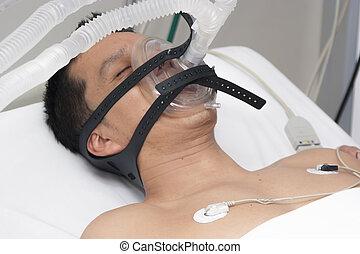 anesthésique,  patient, reçoit