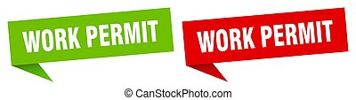 anförande, etikett, bubbla, skriftlig tillåtelsen, skylt., ...