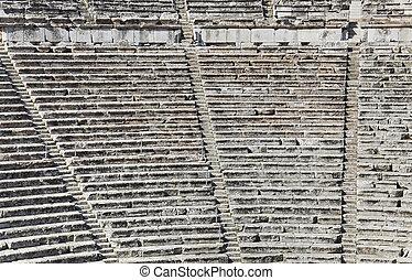 anfiteatro, rovine,  Epidaurus, grecia