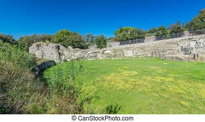 Anfiteatro Severiano in beautiful town of Albano Laziale...