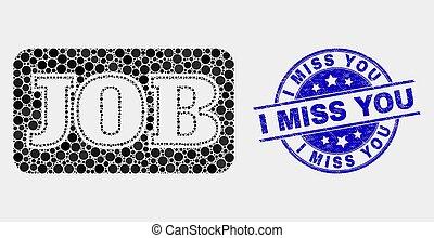 angústia, selo, caption, trabalho, vetorial, selo, tu, senhorita, pixel, ícone