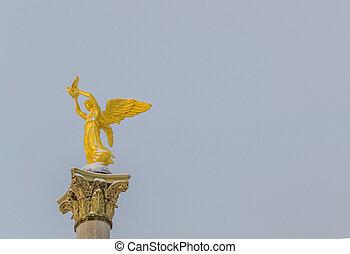 ange, de, paix