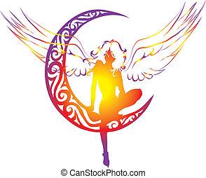 ange, lune