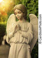 Angel - Beautiful state of an angel praying