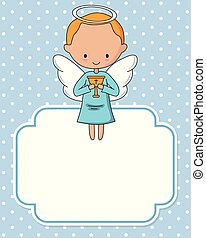 Angel boy with chalice