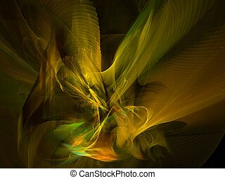 angel - abstract fractal background created with apophysis...