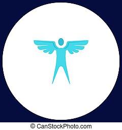 angel computer symbol