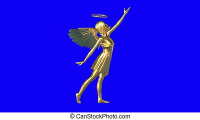 Angel  - golden angel