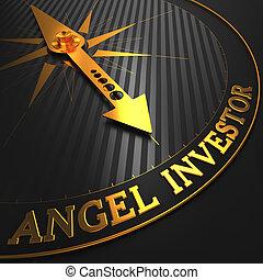 Angel Investor - Golden Compass Needle.