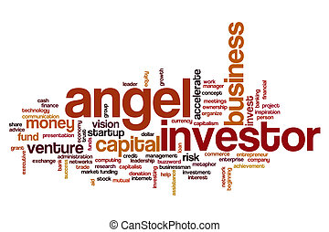Angel investor word cloud - Angel investor concept word ...