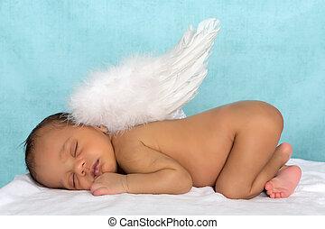 Angel newborn baby
