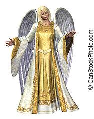 Angel of Light - 3D render