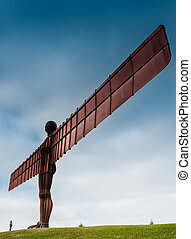 Angel of the North - Standing 20 meters tall and located in...