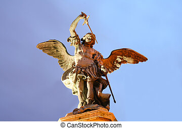 Angel on top of Castel Sant'Angelo