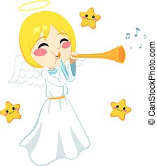 Angel Sounding Trumpet