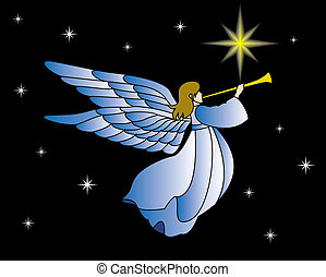 angel - this image is good for the christmas card