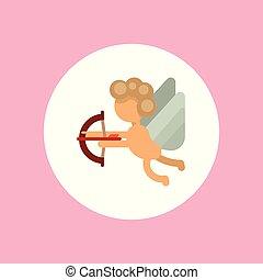 Angel vector icon
