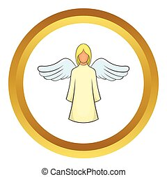 Angel vector icon
