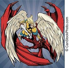 Angel versus Devil