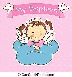 girl baptis