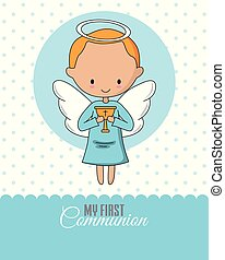 Angel with a chalice